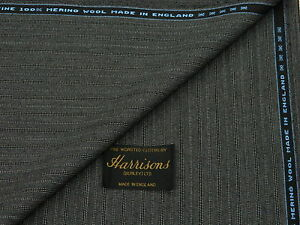 100/% PURE NEW WOOL WORSTED SUITING//JACKETING FABRIC MADE IN ENGLAND = 3.5 m.