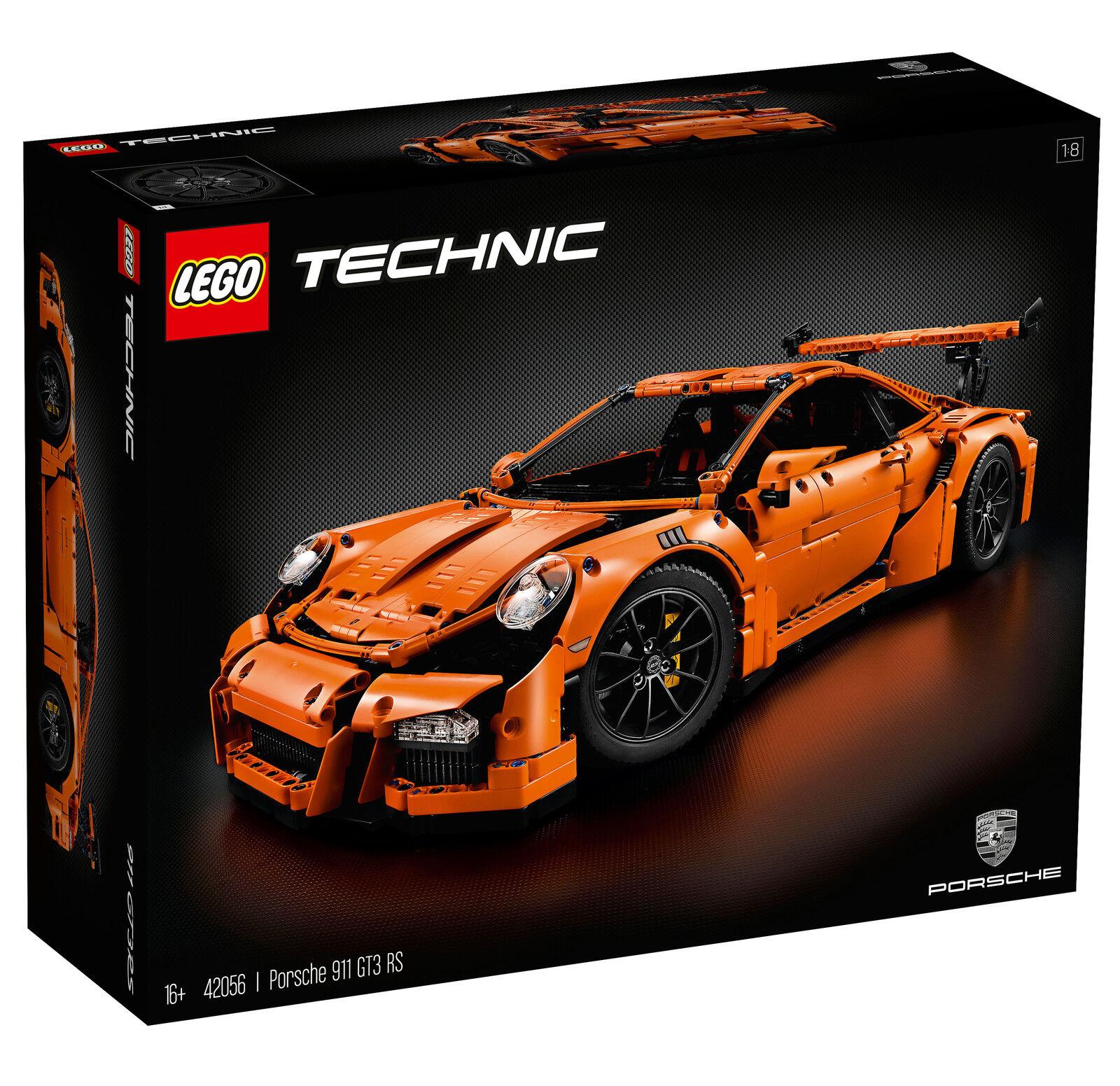 Neues lego technic - porsche 911 gt3 rs (42056) versiegelt, 100% authentische