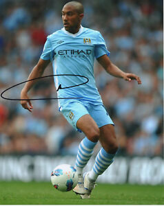 GAEL-CLICHY-Signed-10x8-Photograph-FOOTBALL-MANCHESTER-CITY