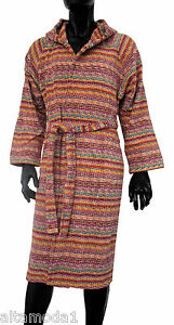 SystéMatique Missoni Home Milo Accappatoio Cappuccio 10 12 14 Anni Years Hood Bathrobe Facile à RéParer