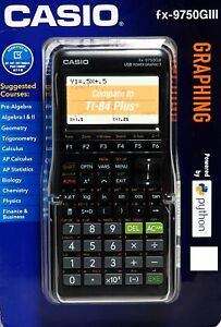 Casio-fx-9750GIII-Graphing-Calculator-Black