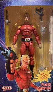 NECA Defenders of the Earth Series Flash Gordon Savior Of The Universe Figure