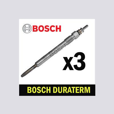3x Bosch Glow Spine Per Vw Scirocco 2.0 Tdi Cfgc Cuub Cuwa 150bhp 177bhp 184bhp- Rinfresco