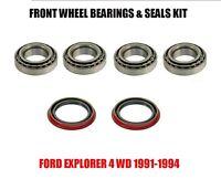 Ford Explorer Front Wheel Bearings & Seals Kit 1991-1994