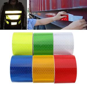 5cm 3m sicherheit reflektierende warnband aufkleber. Black Bedroom Furniture Sets. Home Design Ideas