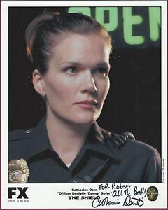Catherine Dent, Schauspielerin, Signiert 20.3cm x 25.4cm Foto, COA, Uacc Rd 036