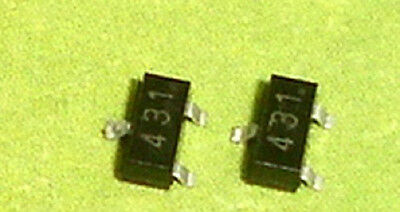 100 PCS TL431 431 SOT-23 Programmable Voltage Reference