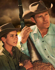 Chuck Connors, Johnny Crawford -  The Rifleman8   -  8 1/2 X 11