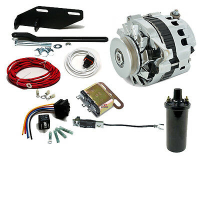 Dodge Plymouth DeSoto 6 to 12 volt conversion kit 6 Foot Pedal Starter