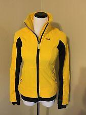 Lolë Women's Jacket Yellow Black Athletic Active Fall Winter Quality Sz XS 2-4