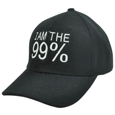 99% Stark New York City Nyc Occupy Wand Street Ows Protest Schwarz Weiß Hut GroßEs Sortiment Fanartikel Baseball & Softball