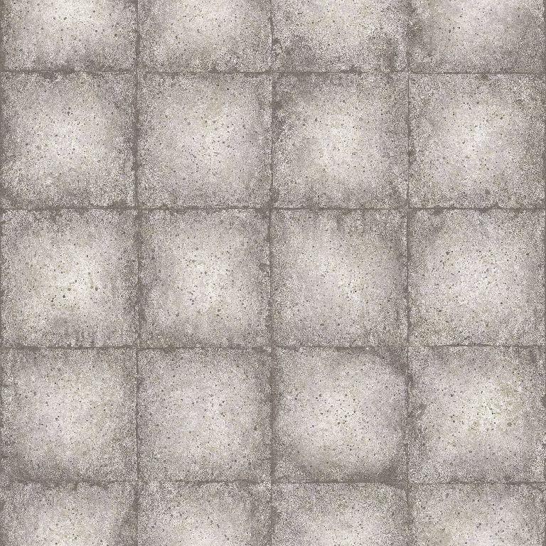 Essener Tapete Ambiance G67794 Piastrella Quadrato Mattonelle Della Parete