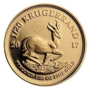 50-Jahre-Jubilaeums-Kruegerrand-1-20-oz-Gold-PP-Suedafrika-2017-im-Etui
