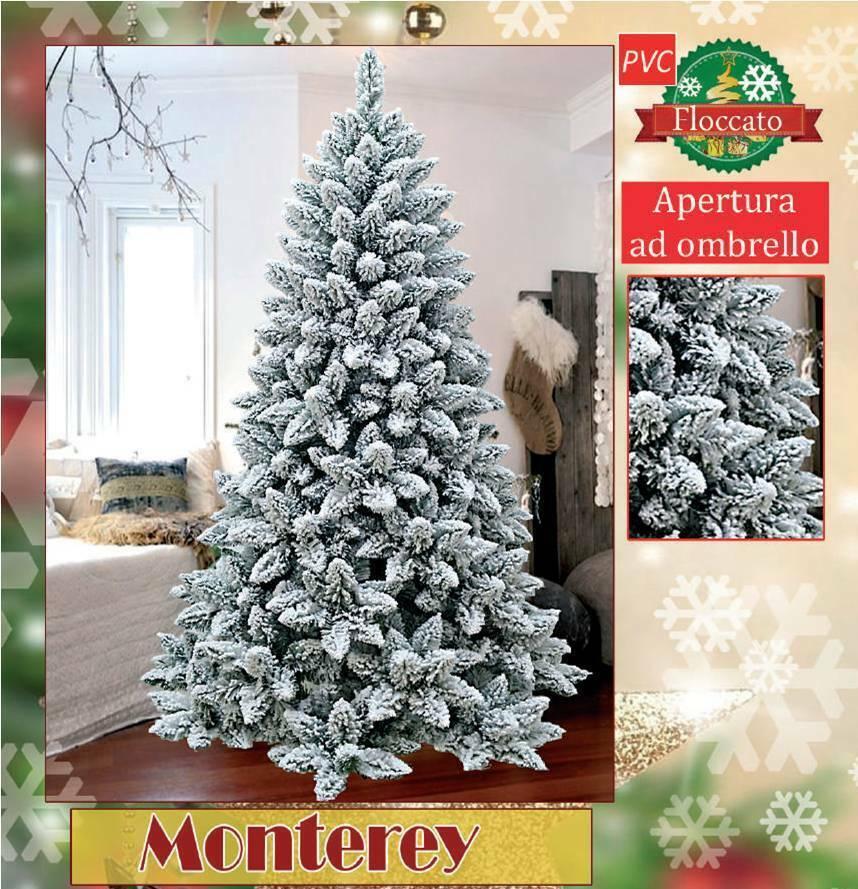 MONTEREY - Bellissimo Weihnachtsbaum verschneit - erhältlich in 4 Höhen