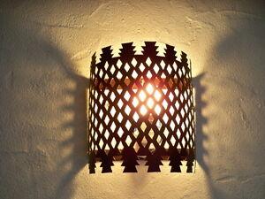 Applique murale marocaine fer forgé lampe lustre y lanterne