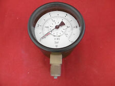 "Carl Scheich Differenzdruck Manometer RDiM 0-10 bar Ø100mm 1/2"" MWS"