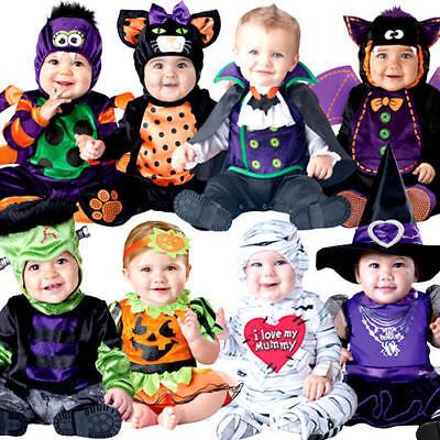 Premuroso Halloween Bambino 0-24 Mesi Costume Ragazzi Ragazze Bambino Neonato Bambino Costumi-mostra Il Titolo Originale