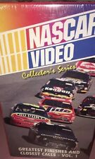 Nascar Video, 1995 Greatest Finishes And Closet Call,Vol. 1, Dale Earnhardt RARE