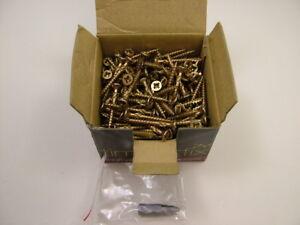 High performance cutter thread wood screws Timberfix 360 gold,3.5x 35mm pack 200
