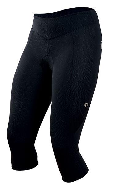 Pearl Izumi Donna Sugar 34 Calzamaglia da Ciclismo Camoscio Nero Texture  S