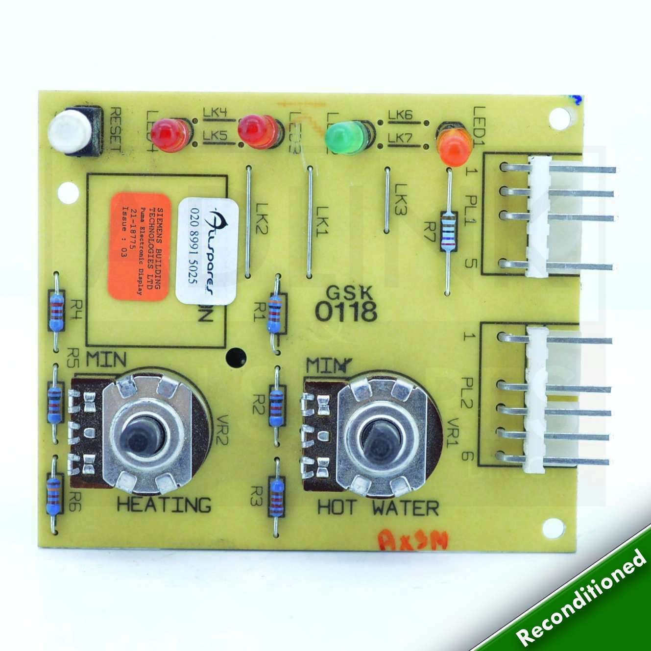 Potterton Puma 80e 100e Display Pcb 929688 Was 21 18775 With 1 Printed Circuit Board Main Fuse 5 Wire S900817 Norton Secured Powered By Verisign