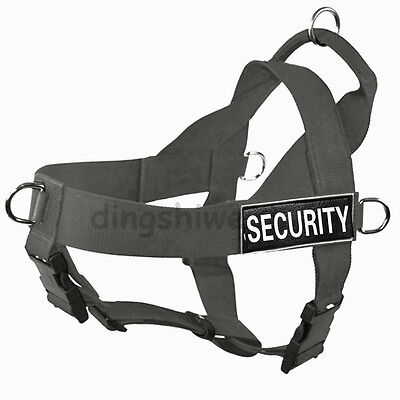German Shepherd Nylon Working Service Dog Harness Small Medium Large XL Pitbull