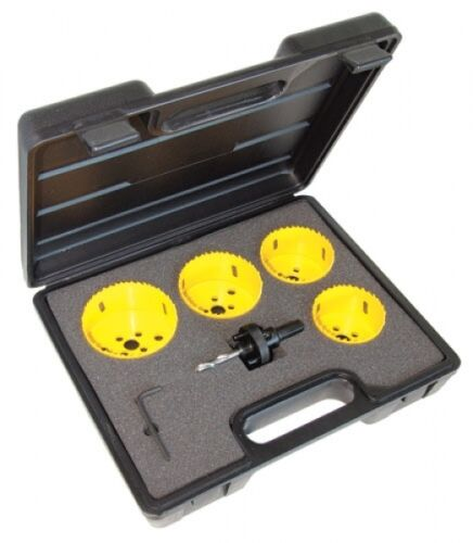 Holesaw Hole Saw Kit CK Tools 424046-6 Piece Downlight Kit
