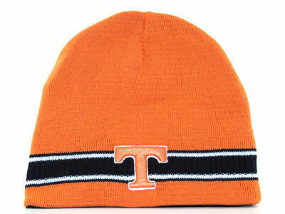 TENNESSEE VOLUNTEERS TOP OF THE WORLD NCAA REVERSIBLE KNIT BEANIE