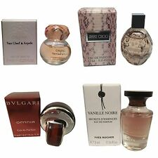 Ladies Womens Miniature Mini Perfume Gift Travel x4 Jimmy Choo Oriens Omnia
