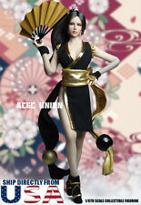 1/6 The King Of Fighters Mai Shiranui Head Sculpt Suit Set For Phicen Figure USA