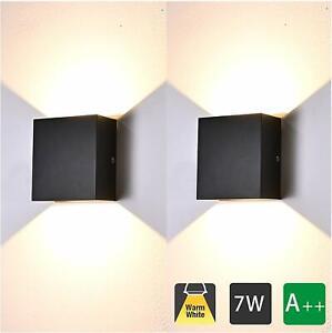 LED Wandleuchte Gartenlampe Innen Außenlampe Beleuchtung Wandlampe Flurlampe