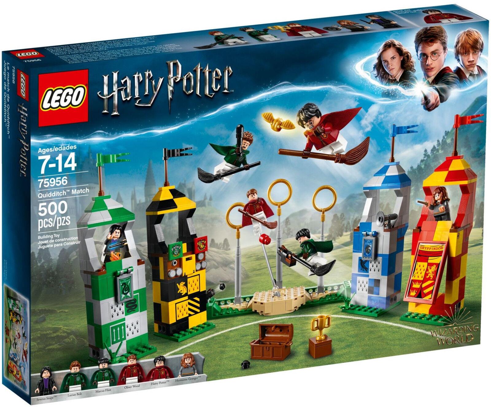 LEGO LEGO LEGO Harry Potter - 75956 Quidditch Turnier   Quidditch Match - Neu & OVP 0a64e5
