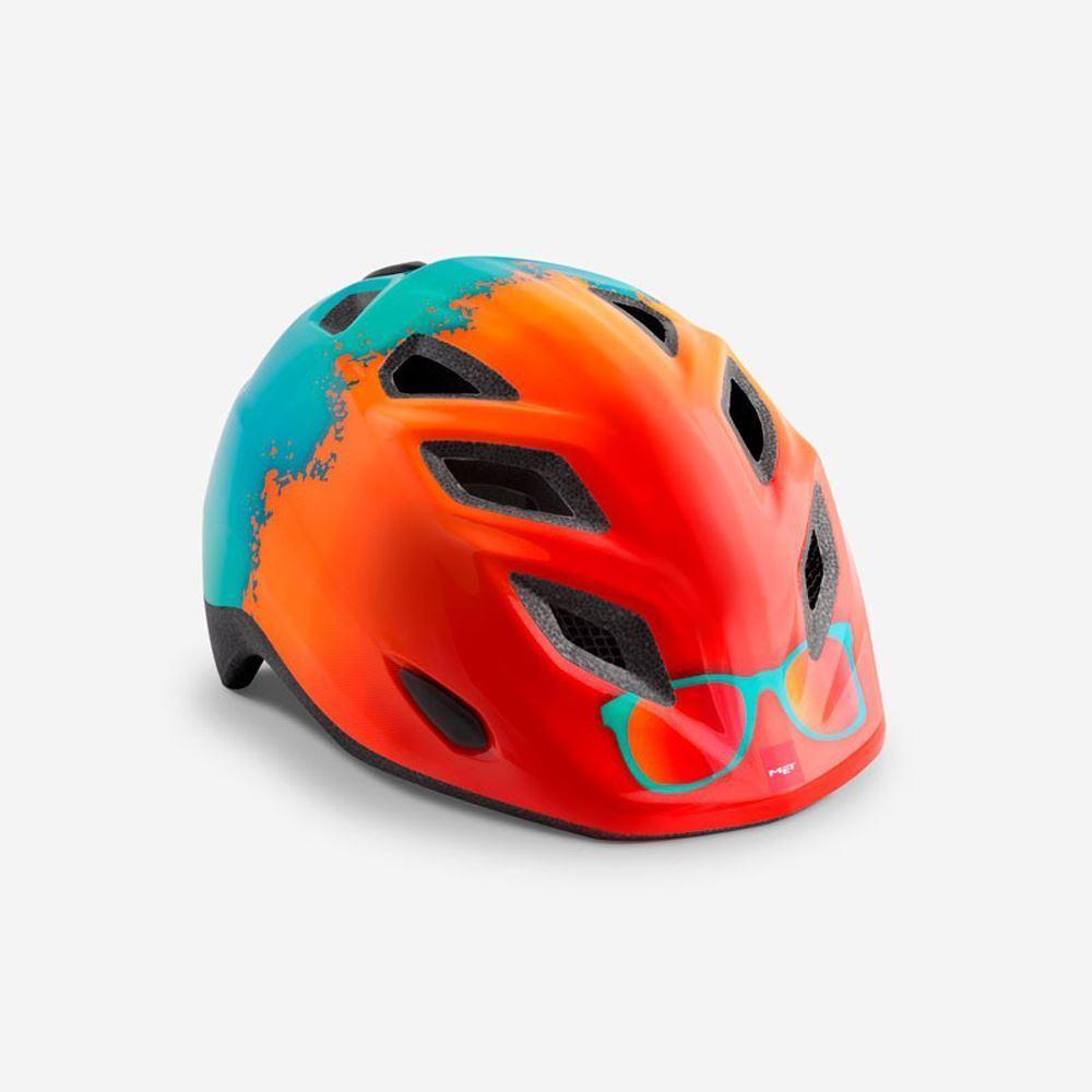 Mountain Bike per Bambini Cycle Casco Met Elfo arancia Surf Hero 46 53 cm