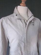 """Chaqueta de abrigo de Armani (M-40"""") - correa de algodón crudo cuello cremallera frontal Stud-Puños Excelle"""