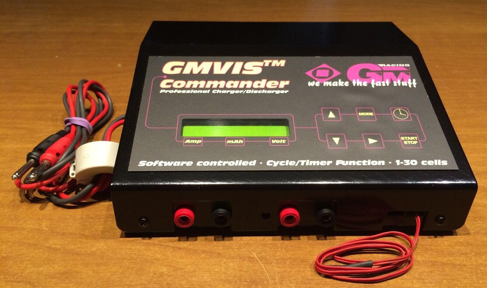 GMVIS Commander - Caricabatterie Ni-Cd e Ni-MH - 12 V