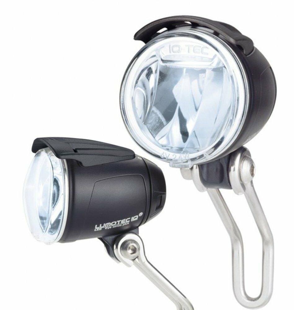 B&M LED Headlight Lumotec IQ Cyo Premium Senso Plus 80 lux