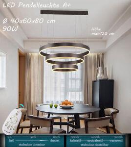 LED 6053O Lichtfarbe und Helligkeit einstellbar Pendelleuchte Acryl Sparsam A+