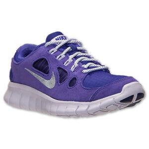 3b2db41ca64420 NIKE Free 5.0 GS Running Shoes NIB Girls Youth Sz 5  37 Purple ...