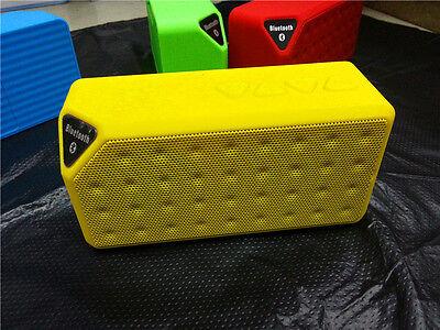 Portable Audio X3 Cube Hands-Free Wireless Bluetooth FM TF Mic Bass Mini Speaker