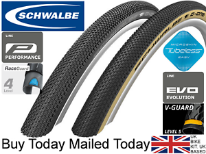 Schwalbe G-One Allround 700 x 35 38c -622 Raceguard   Tubeless Gravel Bike Tyre