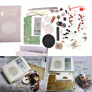 Details about AM FM Radio PCB Cable Kit Receiver Parts CF210SP for Ham  Electronic DIY Assemble