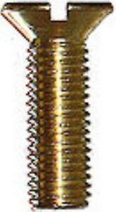 600 Teile Senkschrauben DIN 963 Sortiment Messing M 2.0
