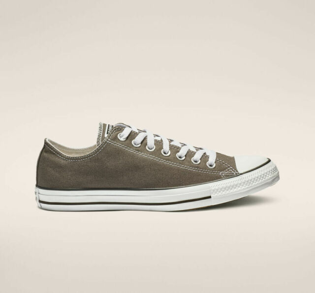 Converse Chuck Taylor All Star Charcoal Low Top OX 1J794 Canvas New in Box