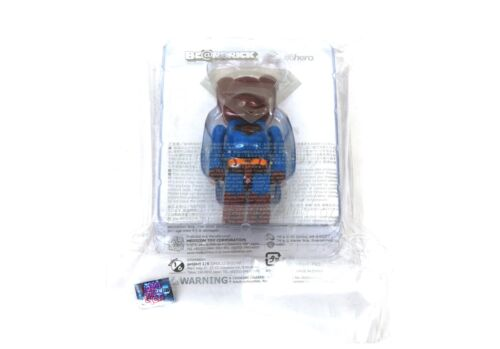 Medicom Toy Bearbrick 100/% SUPERMAN RETURNS Be@rbrick Superman HK Exclusive MIP