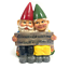 thumbnail 2 - Garden Gnome Home Decor Ornament Dwarf Funny Lawn Fun Decorations Figurine New