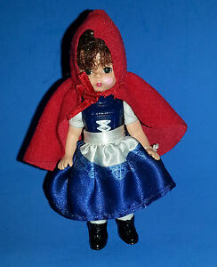 2010-Madame-Alexander-7-RED-RIDING-HOOD-5-034-Doll-McDonald-039-s
