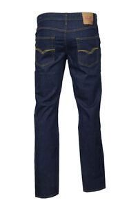 Men-039-s-LCJ-Denim-Comfort-Stretch-Regular-80s-Jeans-LC28-Ohio-Old-School-Indigo