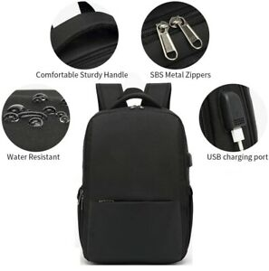 Waterproof-Men-Women-Backpack-Bag-School-Travel-Laptop-Bags-USB-Charging-Port