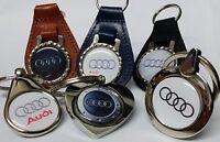 AUDI Key Ring **DESIGN YOUR OWN* Fob Chain  RS R8 A4 TT A5 A6 A7 A8 Q2 Q3 Q5 Q7