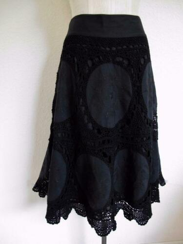 Banana Republic Hand Crocheted Cotton Skirt 6 with